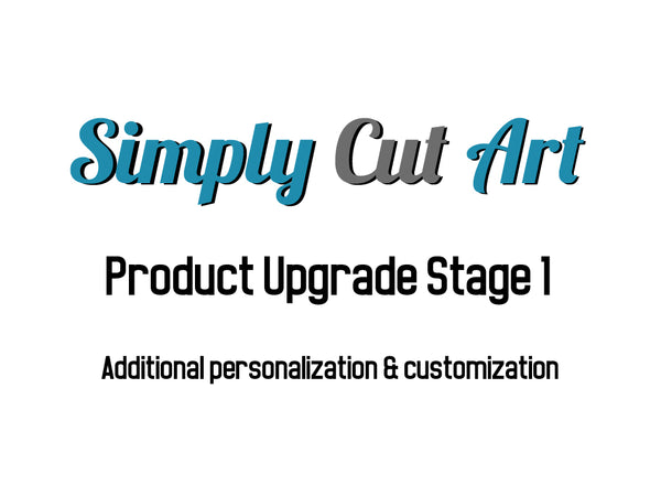 Product Upgrade 1, Additional personalization and customization