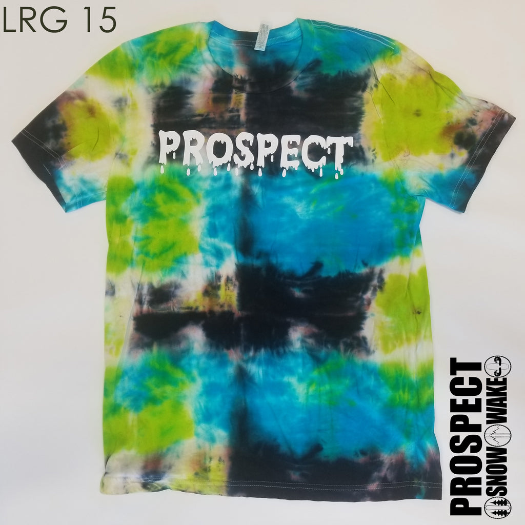 CABLE TRAMP TIE DYE SHIRTS
