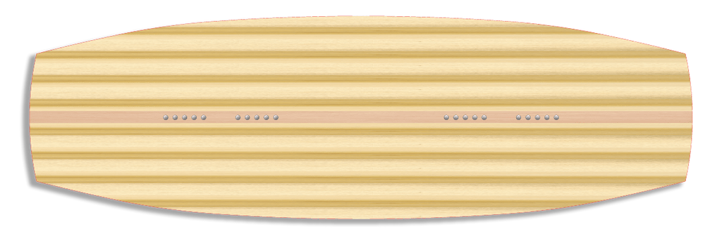 Wakeboard core lamination