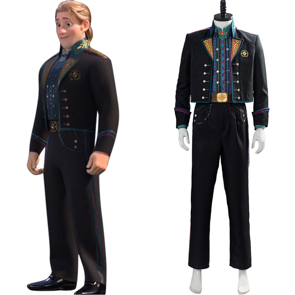 La Reine des Neiges 2 Frozen Kristoff Tenue Cosplay Costume