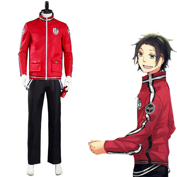 World Trigger Arashiyama Unit Uniforme Jun Arashiyama Cosplay Costume