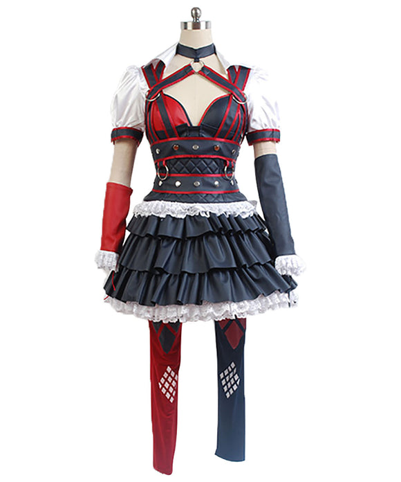 Batman: Arkham Knight Harley Quinn Uniforme Cosplay Costume