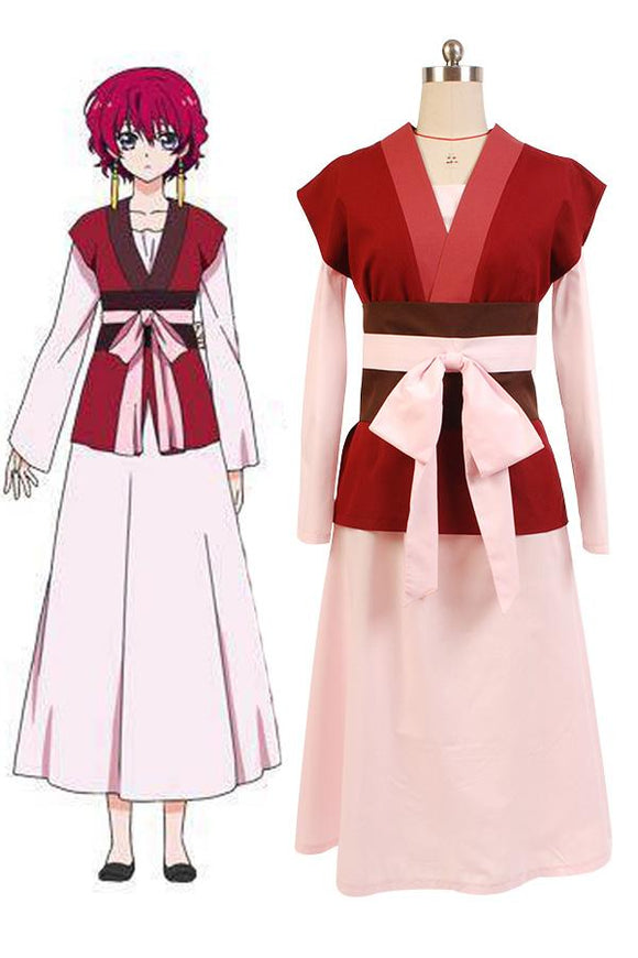 Akatsuki no Yona Yona Robe Cosplay Costume