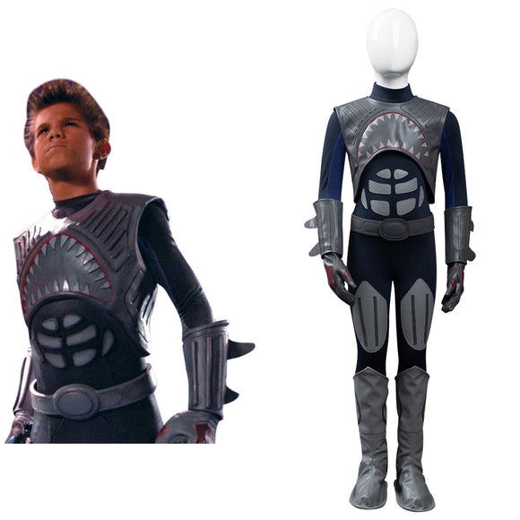 Les Aventures de Shark Boy et Lava Girl Shark Boy Enfant Cosplay Costume