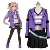 Fate/Apocrypha FA Rider Astolfo Robe Cosplay Costume