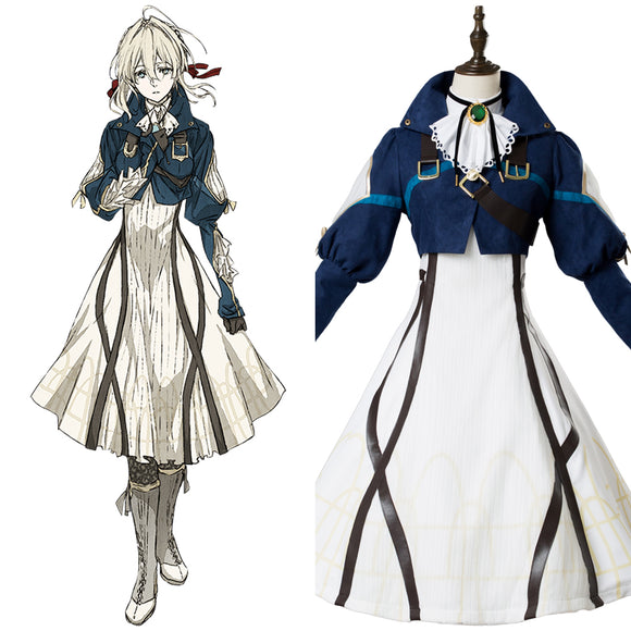 Violet Evergarden Violet Robe Cosplay Costume