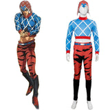 JoJo's Bizarre Adventure Golden Wind Mista Guido Cosplay Costume