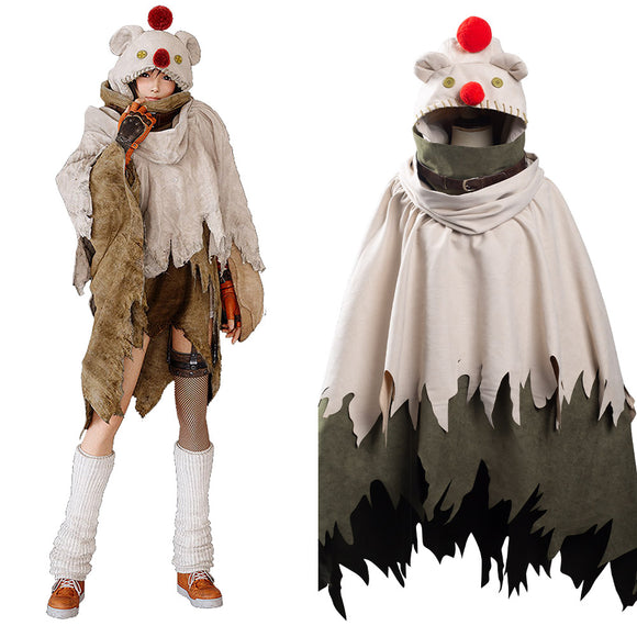 Final Fantasy VII Remake Youfi Kisalaji Muggle Cape Cosplay Costume