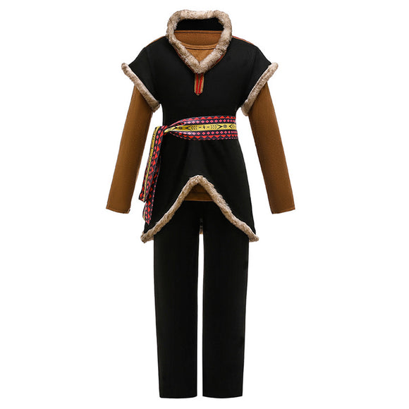 La Reine des Neiges 2 Frozen Kristoff Cosplay Costume Enfant