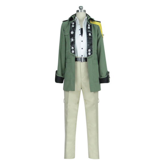 Final Fantasy VIII ff8 Sazh Katzroy Cosplay Costume