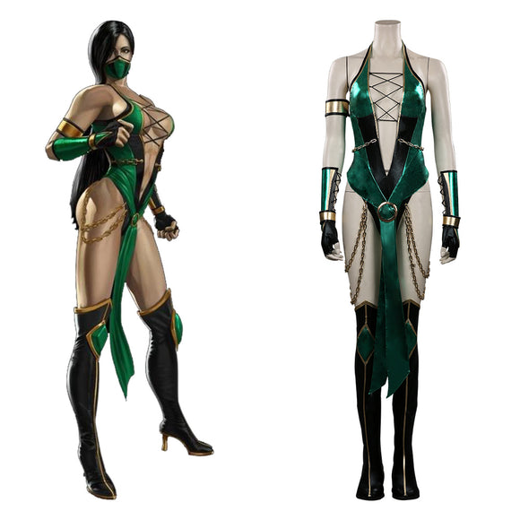 Mortal Kombat Jade Cosplay Costume