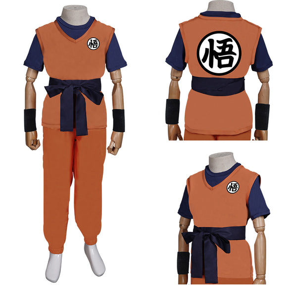 Dragon Ball Enfant Son Goku Cosplay Costume