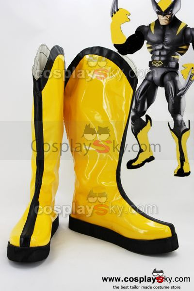 X-Men Origins: Wolverine Botte Cosplay Chaussures