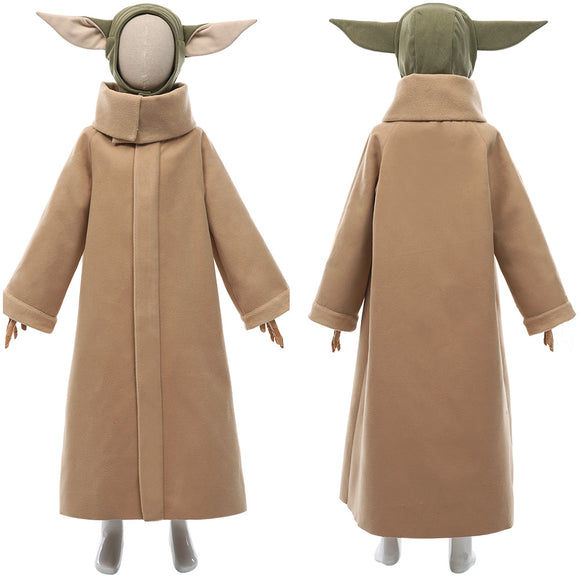 The Mandalorian 2 Baby Yoda Grogu Costume Enfant Cosplay Costume