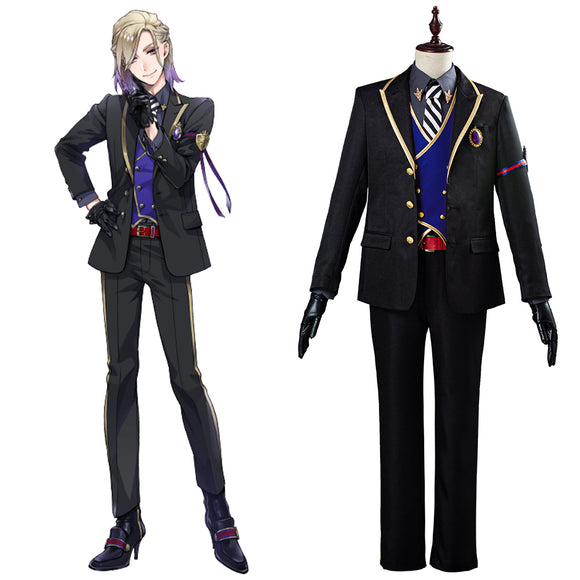Twisted Wonderland Vil Schoenheit Halloween Carnaval Costumes pour Adulte Cosplay Costume