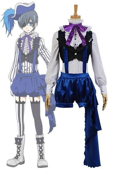 Black Butler 3 Ciel Phantomhive Cosplay Costume
