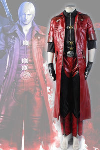DMC Devil May Cry 4 Dante Sparda Cosplay Costume