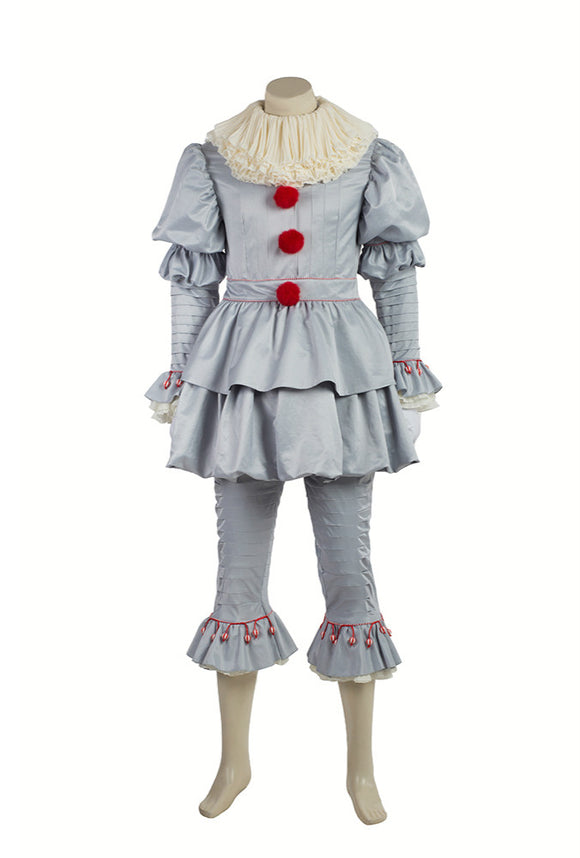Ça film 2017 IT Pennywise The Clown Cosplay Costume