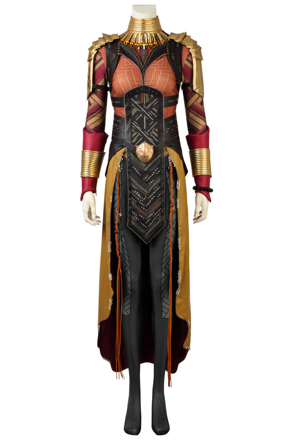 2018 Avengers Infinity War Black Panther Okoye Cosplay Costume