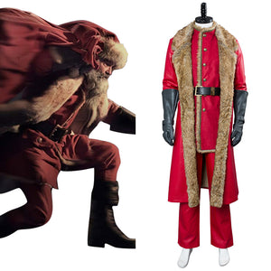 2018 Film The Christmas Chronicles Santa Claus Père Noël Cosplay Costume