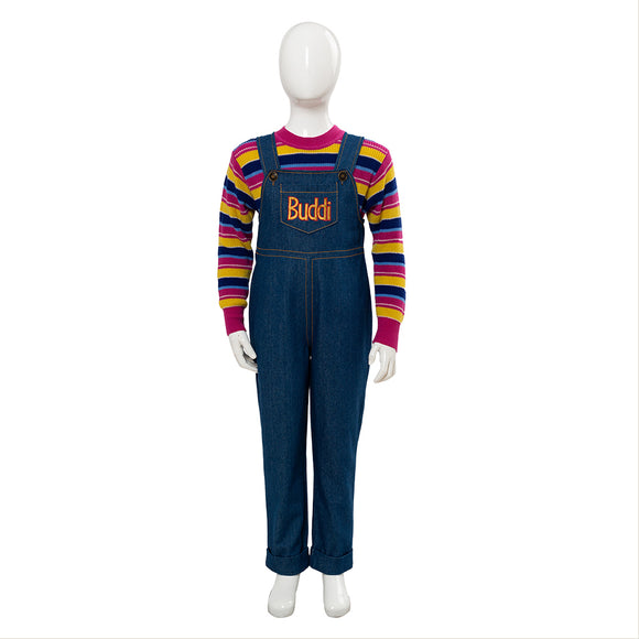 2019 Film Child's Play La Poupée du mal Jeu D'enfant Chucky Cosplay Costume Enfant