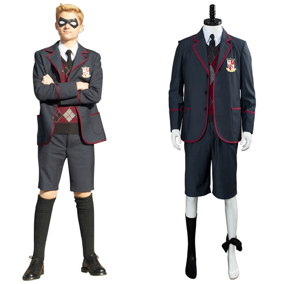 2019 TV Umbrella Academy Uniforme Scolaire Cosplay Costume Enfant et Adulte