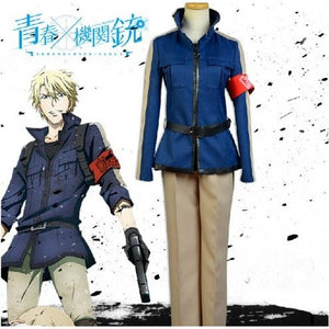 Aoharu x Machinegun Masamune Matsuoka Uniforme Cosplay Costume