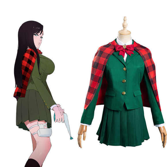 Burn the Witch Noel Niihashi Uniforme Cosplay Costume