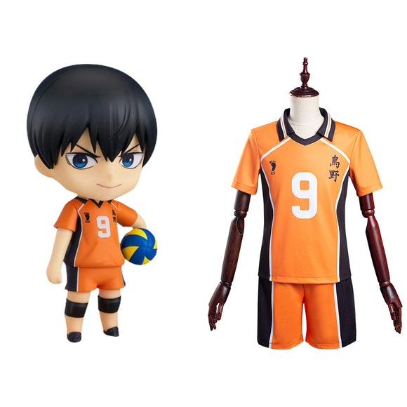 Haikyuu Tobio Kageyama Karasuno High School Club No.9 Cosplay Costume