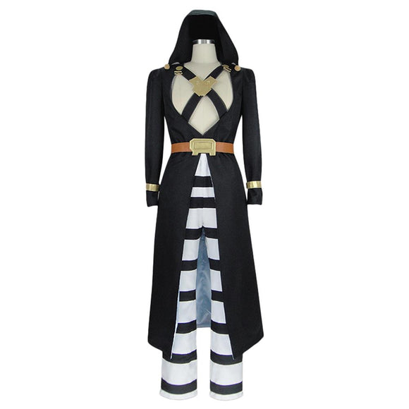 Jojo's Bizarre Adventure Golden Wind JJBA Risotto Nero Cosplay Costume