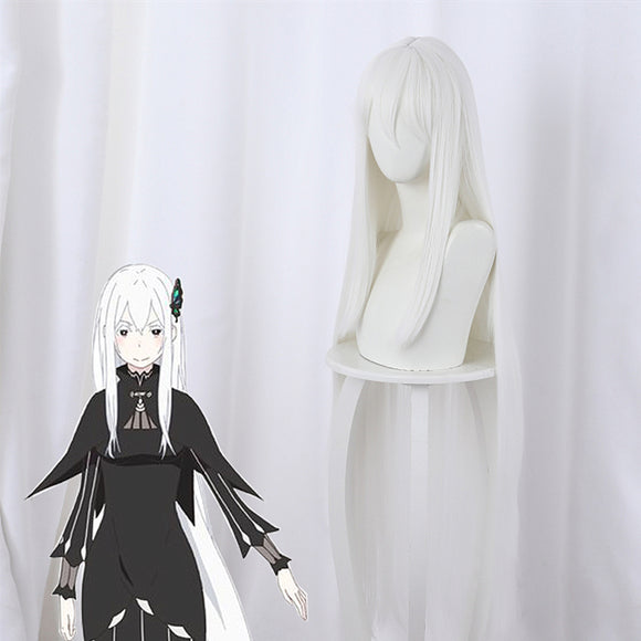 Re:Zero Life in a Different World from Zero Echidna Cosplay Perruque