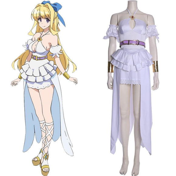 Cautious Hero Shinchou Yuusha Ristarte Robe Cosplay Costume