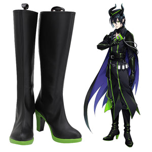 Twisted Wonderland SILVER Malleus LILIA Cosplay Chaussures