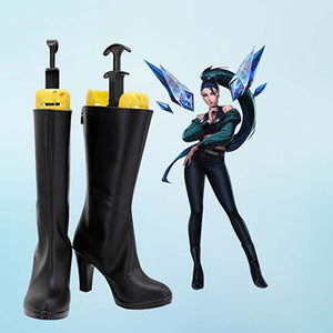 League of Legends LOL KDA Kaisa Cosplay Chaussures