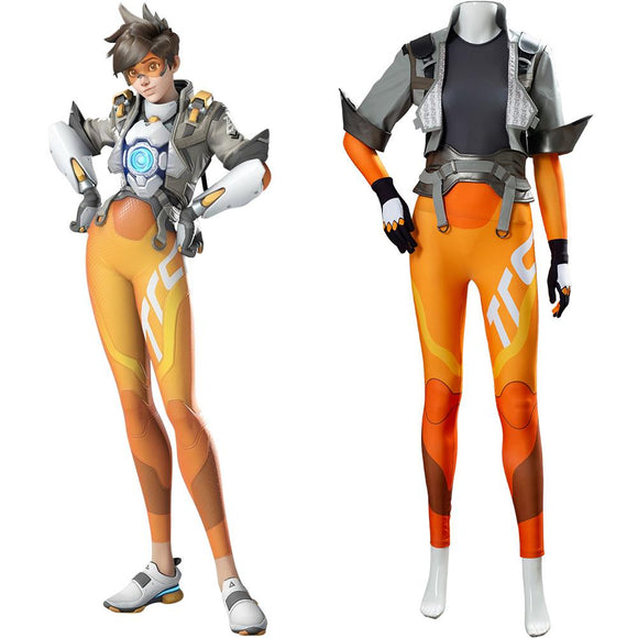 Overwatch 2 Tracer Cosplay Costume