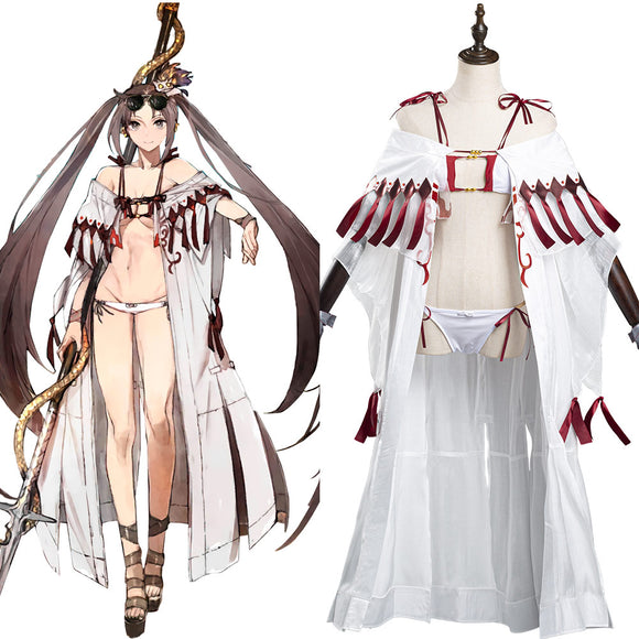 Fate/Grand Order FGO Yu Mei Ren Cosplay Costume