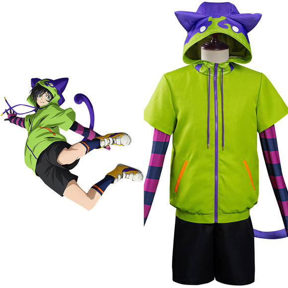 Sk8 the infinity miya cosplay Clothing jacket pantalons Halloween Carnival set