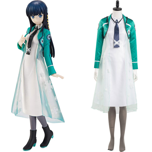 The Irregular at Magic High School Shiba Miyuki Halloween Carnaval Cosplay Costume