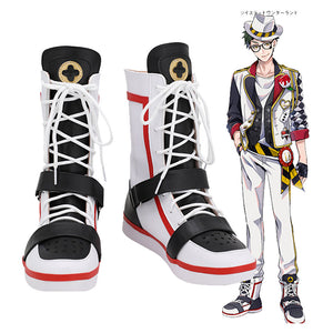 Twisted Wonderland Deuce Spade  Bottes Halloween Carnaval Cosplay Chaussures