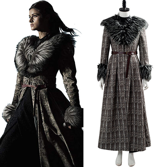 The Witcher Yennefer Halloween Carnaval Cosplay Costume