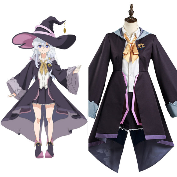 Majo no Tabitabi The Journey of Elaina Elaina Cosplay Costume
