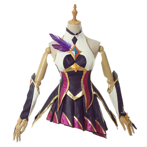 LOL League of Legends Star Guardian Xayah Cosplay Costume