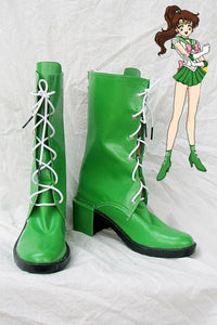 Sailor Moon Jupiter Cosplay Chaussures
