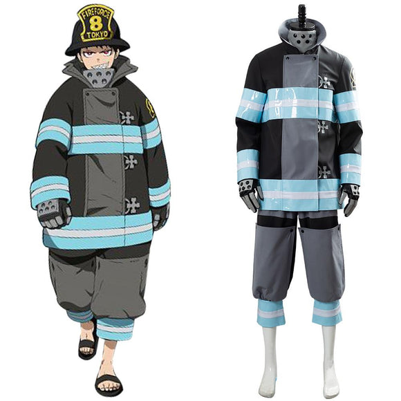 Fire Force Enen no Shouboutai Shinra Kusakabe Cosplay Costume
