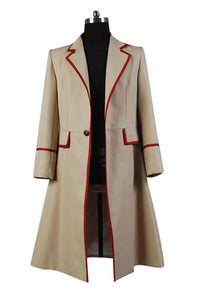 Doctor Who Manteau Beige Cosplay Costume