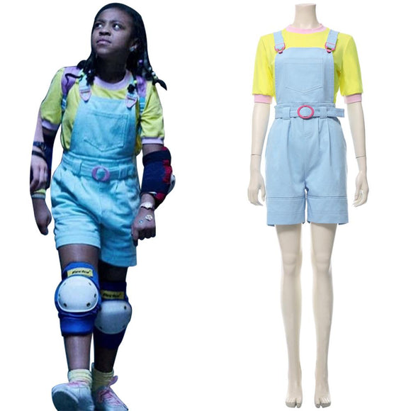 Stranger Things 3 Erica Sinclair Cosplay Costume