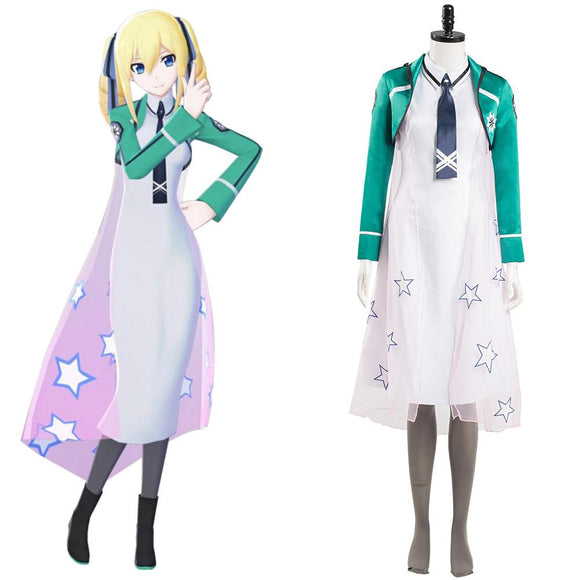 The Irregular at Magic High School Angelina Kudou Shields Halloween Carnaval Cosplay Costume