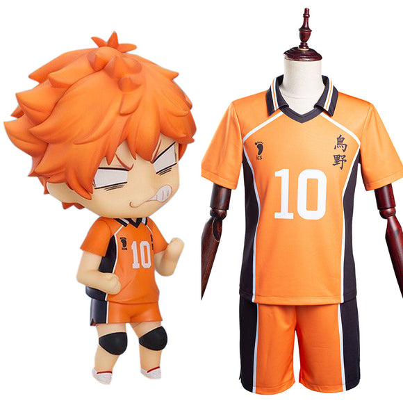 Haikyuu Karasuno High Hinata Shoyo No10 Cosplay Costume