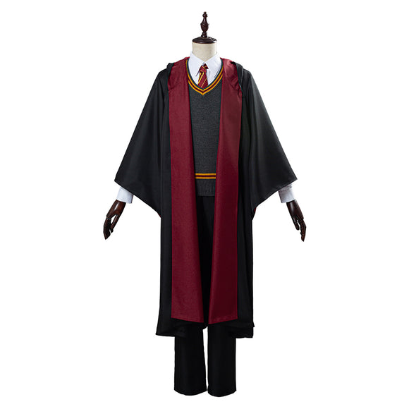 Harry Potter Uniforme scolaire Gryffindor Robe Cape Tenue Halloween Carnaval Cosplay Costume