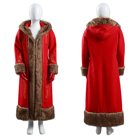 The Christmas Chronicles Mère Noël Mrs. Claus Enfant Cosplay Costume